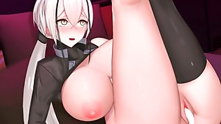 Rinhee Uncensored Animations [Overwatch, Azur Lane, Girls Frontline]
