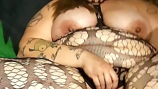 Smoking playing with toy gets me an Anal Creampie he couldn't Resist