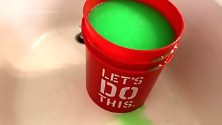 Behind the Scenes Slime Gunging WAM